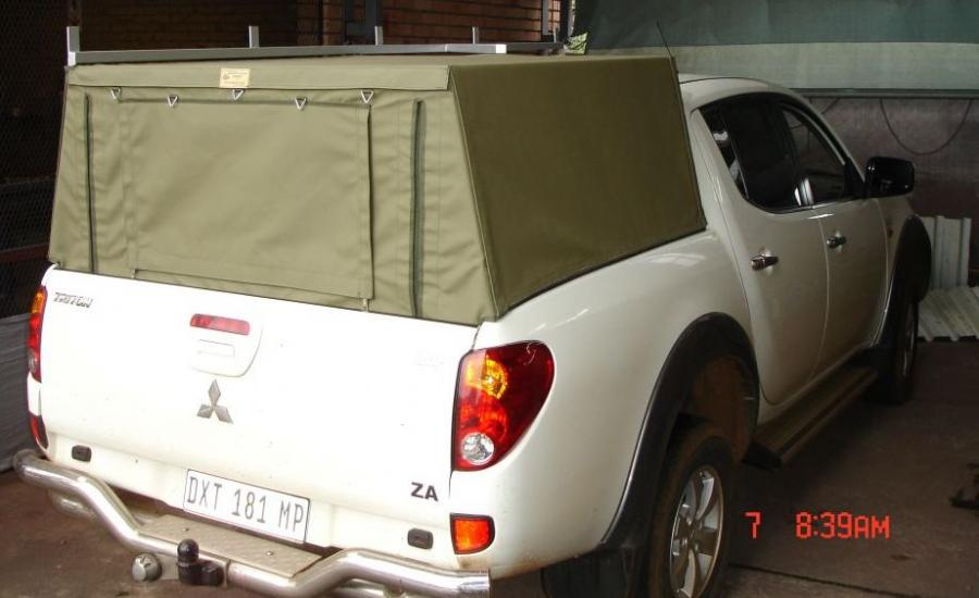 Canvas Bakkie Canopies Gallery Nelspruit Canvas And