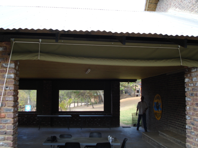 Roll Up Blinds Drop Awnings Gallery Nelspruit Canvas